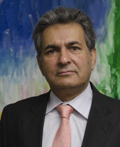 Ashfaq M. Ishaq, Executive Chairman, International Child Art Foundation